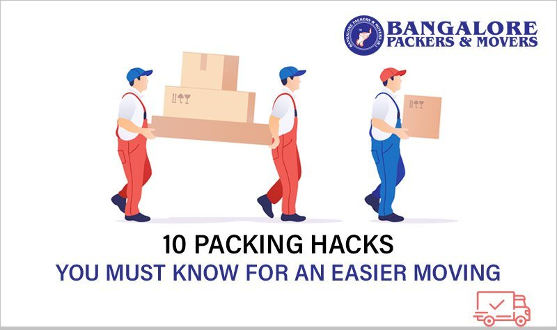 10 packing hacks you must know, for easier moving.