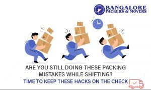 Top 5 mistakes to avoid when packing and moving